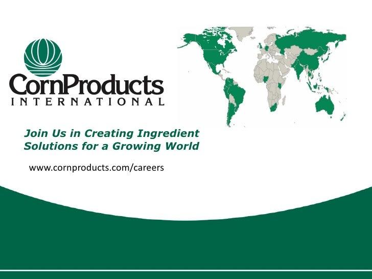 CPO Overview Presentation