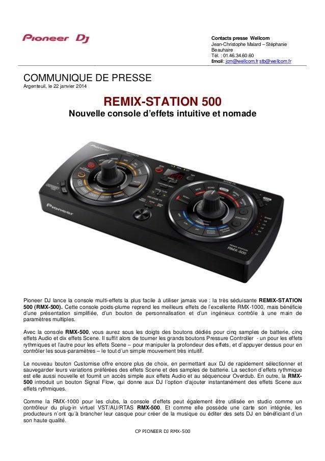 Contacts presse Wellcom Jean-Christophe Malard – Stéphanie Beauhaire Tél. : 01.46.34.60.60 Email : jcm@wellcom.fr stb@well...