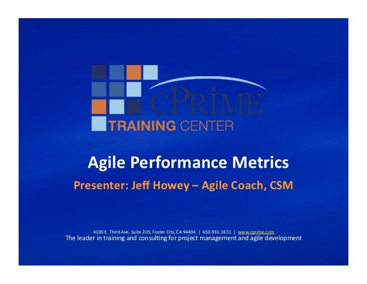 C prime webinar-ppt-validating agile