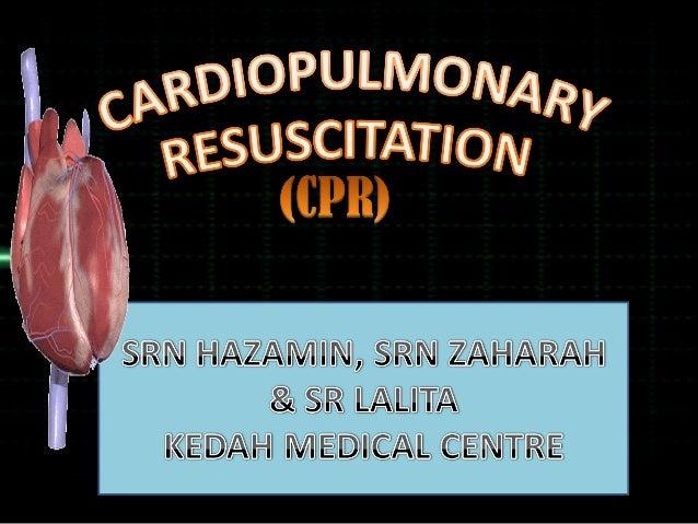 INDIKASI CPR  Denyutan jantung terhenti akibat serangan jantung  Kejutan elektrik  Lemas  Keracunan  Penyekatan pada ...