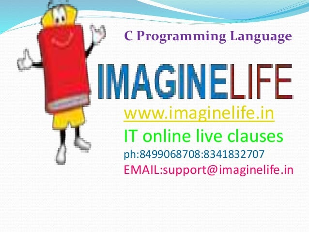 C Programming Languages Online Hyderabad Training