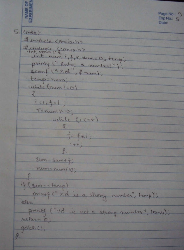 C assignments