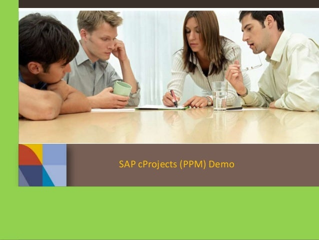 SAP cProjects (PPM) Demo