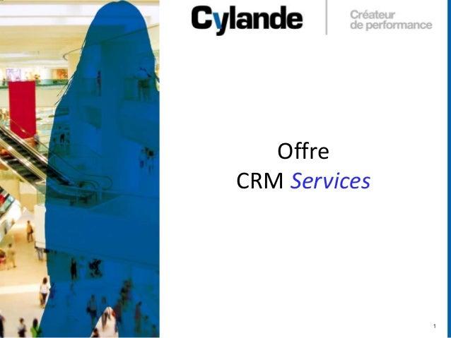 1 Offre CRM Services