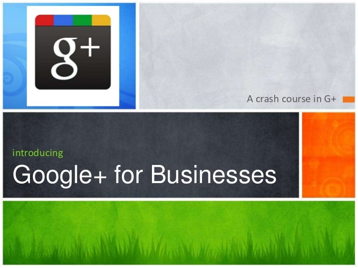 Google+ for Businesses
