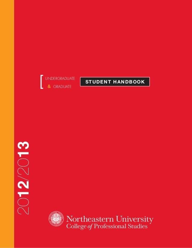 STUDENT HANDBOOK[UNDERGRADUATE & GRADUATE 2012/2013