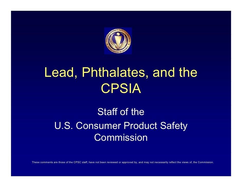Cpsc Presentation 2009