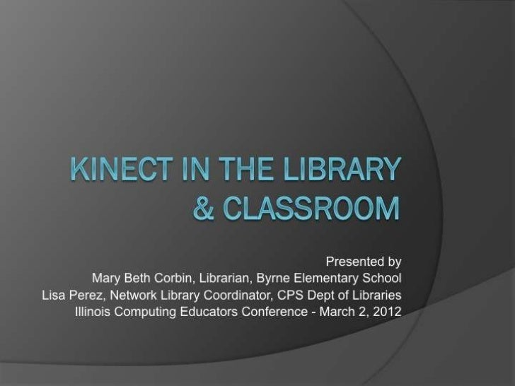 CPS KINECT - ICE 2012
