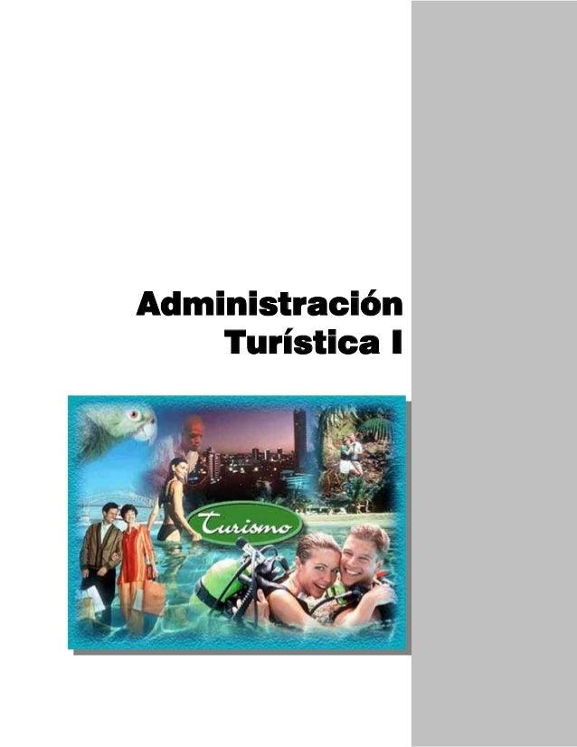 Administración Turística I