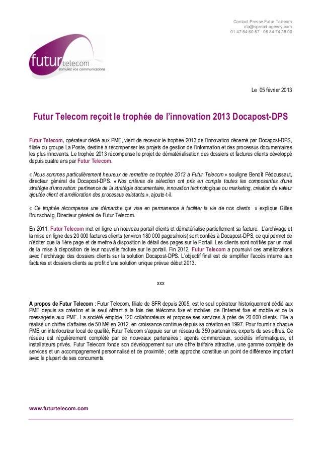 Cp trophée de innovation docapost dps