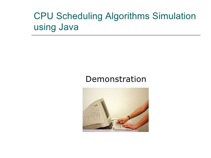 simulation of scheduling algorithms Title: towards simulation of parallel file system scheduling algorithms with pfssim: publication type: conference paper: year of publication: 2011: authors.