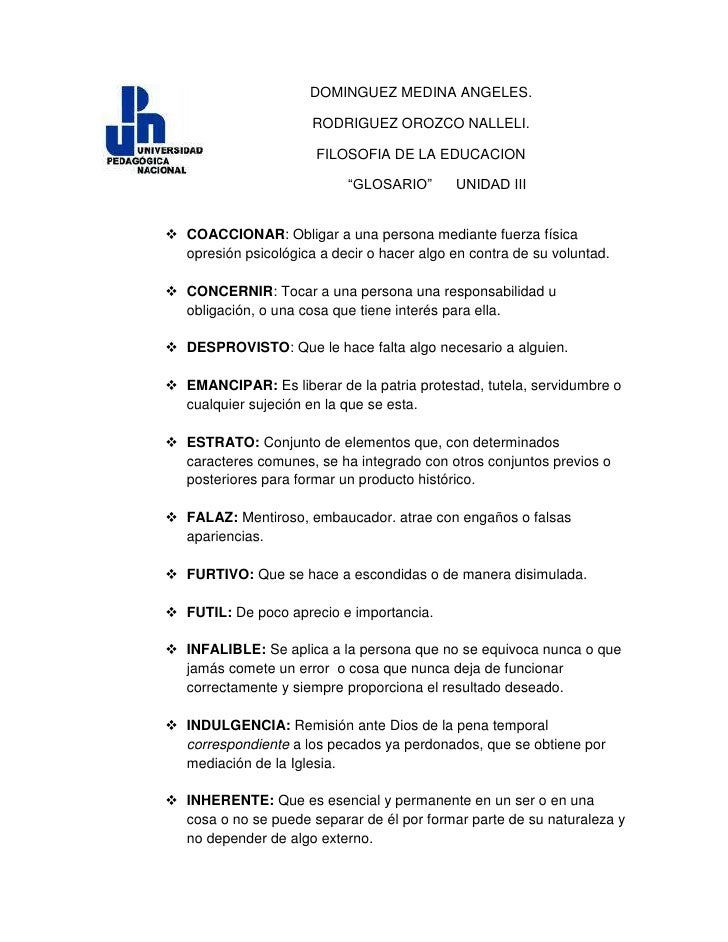 lefttopDOMINGUEZ MEDINA ANGELES.<br />RODRIGUEZ OROZCO NALLELI.<br />FILOSOFIA DE LA EDUCACION<br />                      ...