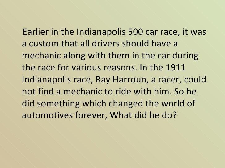 Car Racing Prayer Indianapolis 500 Car Race