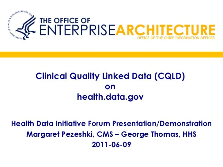 Clinical Quality Linked Data on health.data.gov