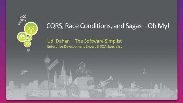 CQRS Races Sagas Domain Model