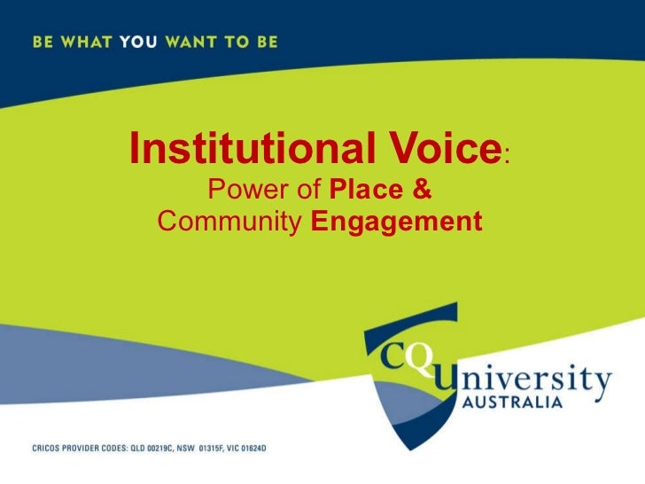 An institutional voice to support teachers and learners in blended and distance education