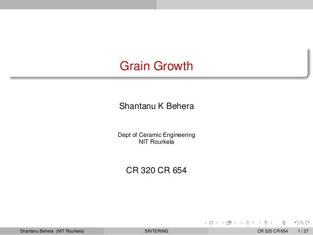 Cr320 grain growth-lectureslides