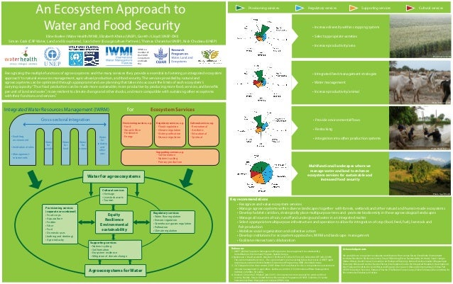 Poster: An ecosystem approach to water and food security