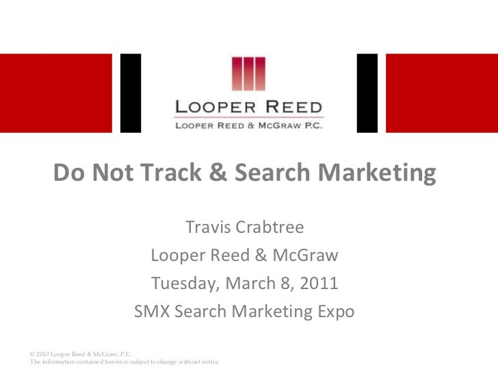 SMX Do Not Track & Search Marketing
