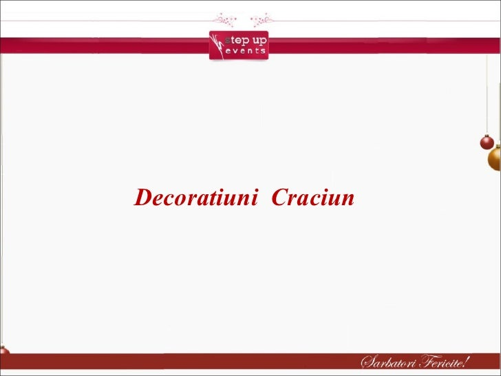 Craciun Decoratiuni