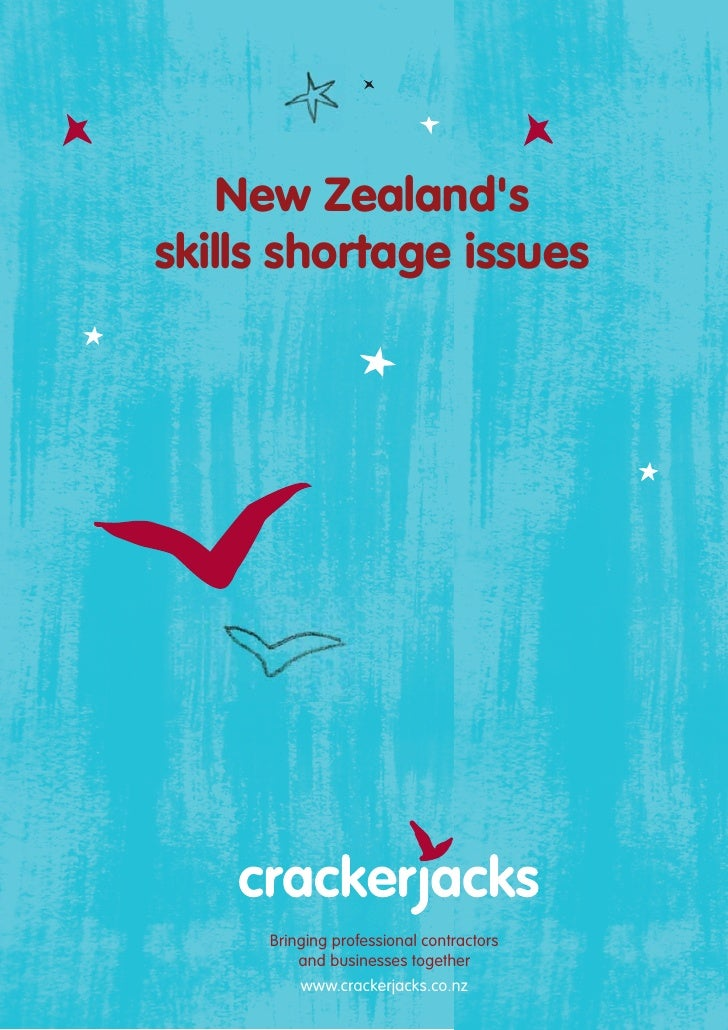 Crackerjacks New Zealand's Skills Shortage Issues
