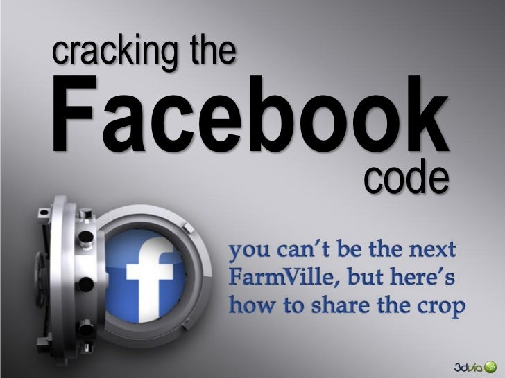 cracking theFacebook      code         © Dassault Systèmes. All rights reserved.