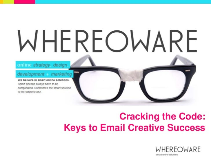Cracking the Code:Keys to Email Creative Success