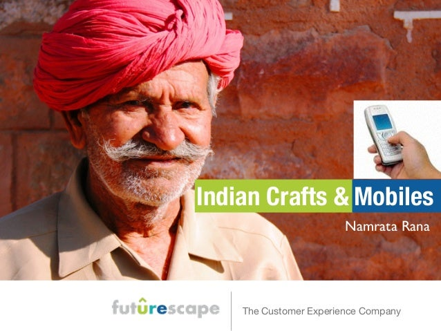 Indian Crafts and Cell Phones