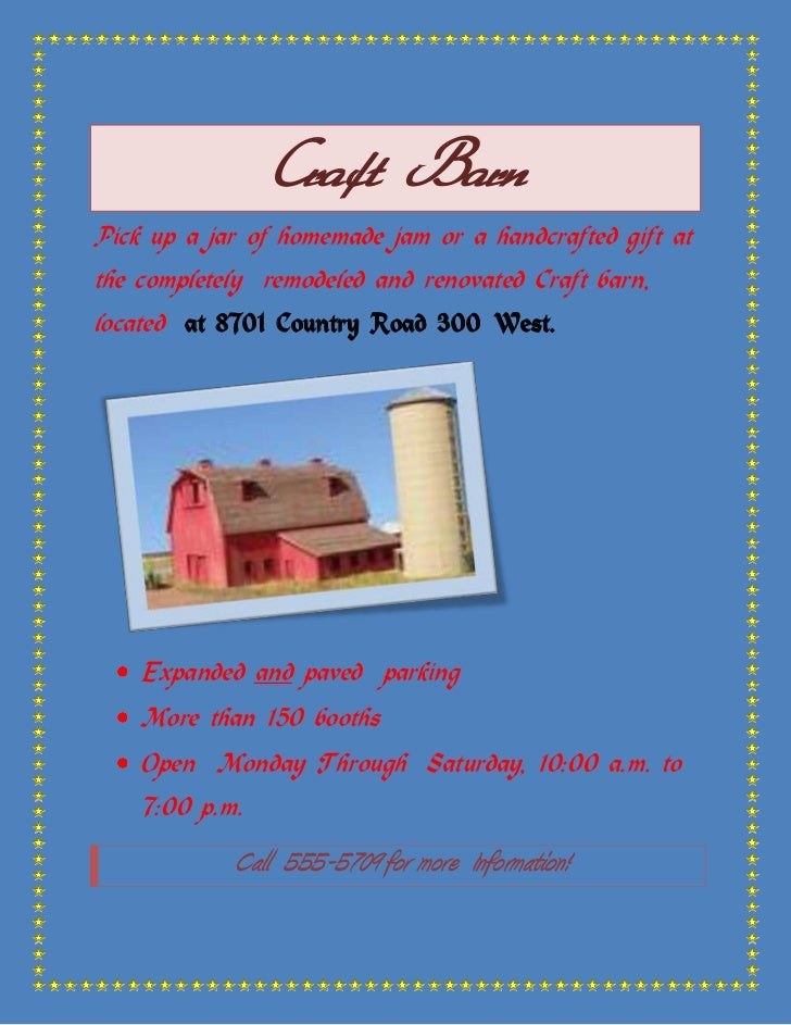 Craft Barn<br />Pick up a jar of homemade jam or a handcrafted gift at the completely  remodeled and renovated Craft barn,...