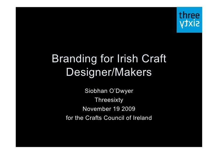 Craft Branding Presentationreduced
