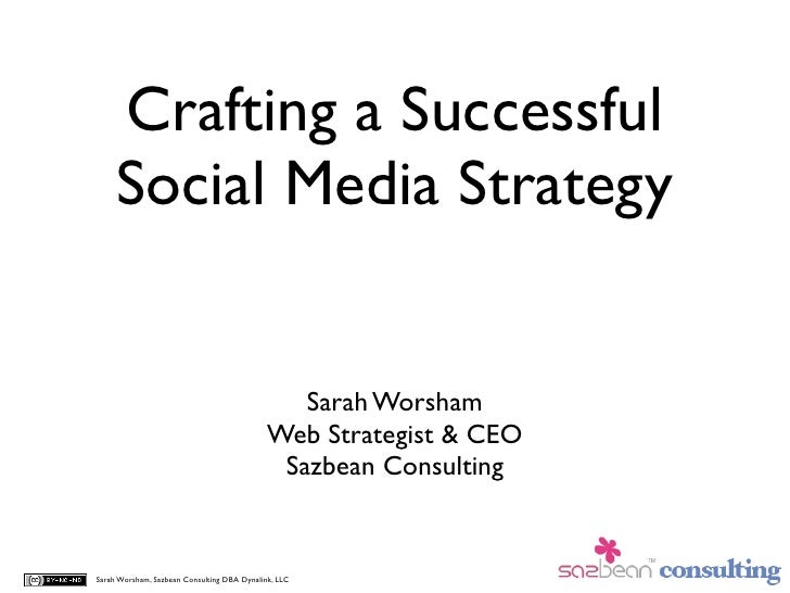 Crafting a Successful Social Media Strategy