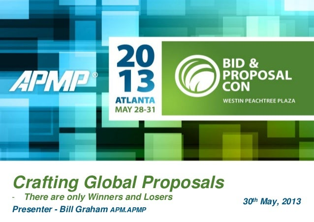Crafting Global Proposals - there are only winners & losers