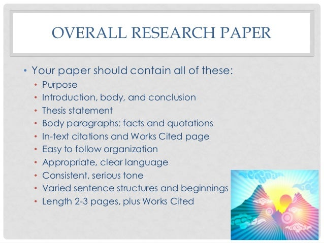 What should research paper introduction include?