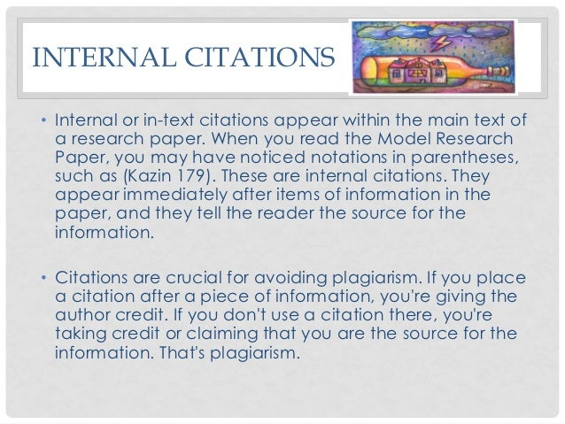 citing books in research papers About citing books  entry that appears at the end of your paper information on citing and several of the examples were  research the himmelfarb.