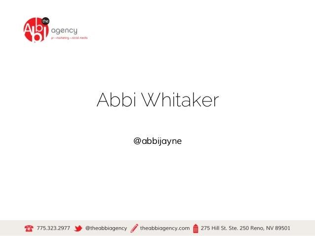 Abbi Whitaker@abbijayne