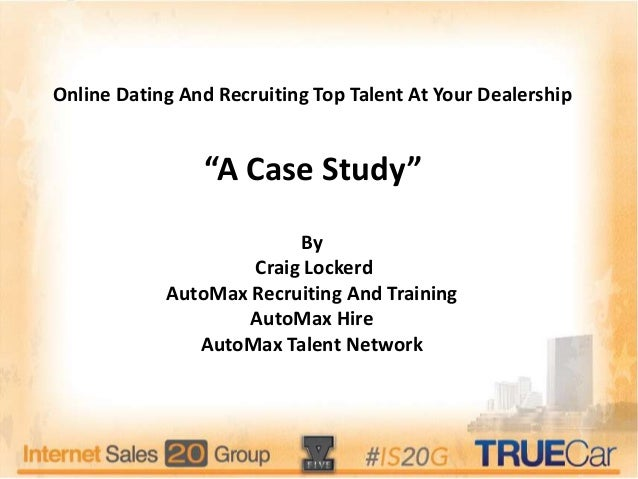 Case Study 4.docx - 1 Case Study 4 Online Dating and