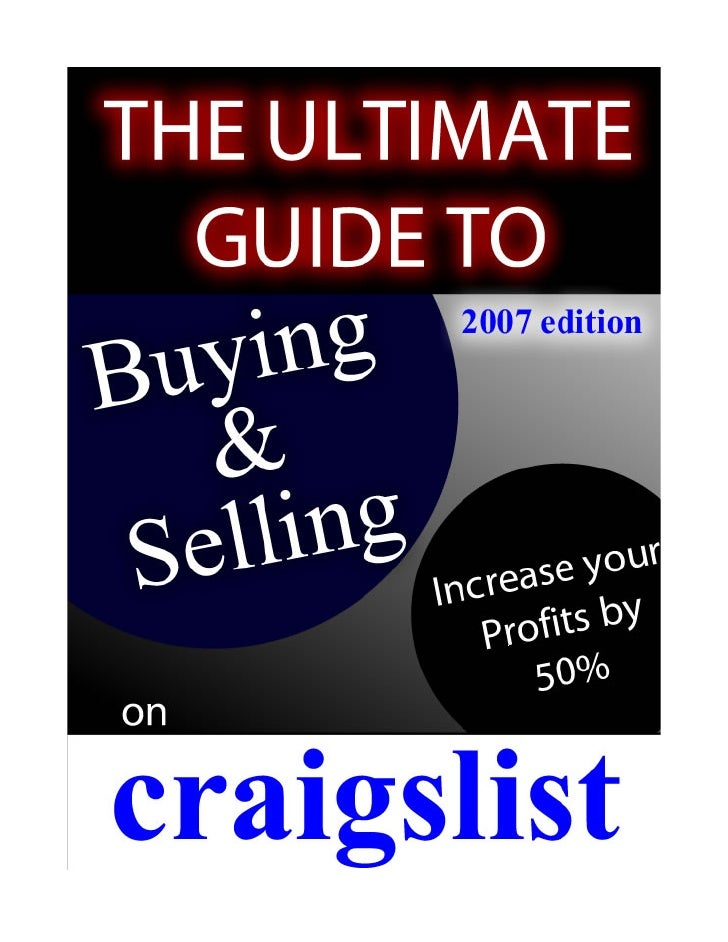 craigslist seattle buying and selling guide. Black Bedroom Furniture Sets. Home Design Ideas