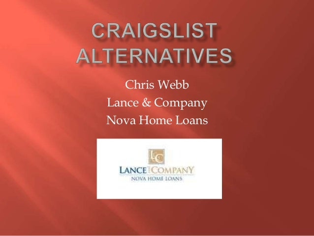 Craigslist Alternatives for Real Estate Marketing