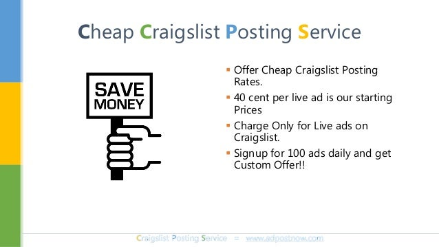 How To Post On Craigslist Without Being Flagged