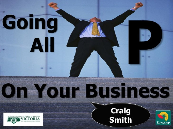 Going  AllOn Your Business          Craig          Smith