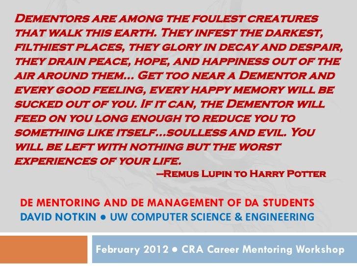 Cra mentoring 2012 students