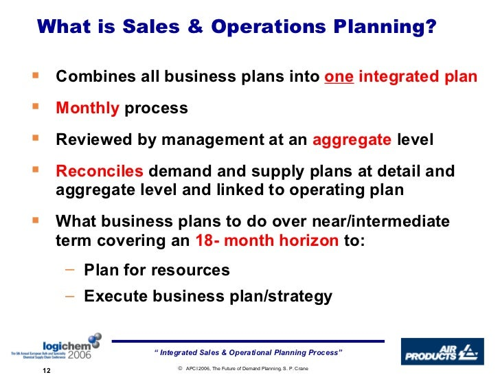 chapter 14 sales and capacity planning lecture outline the sales