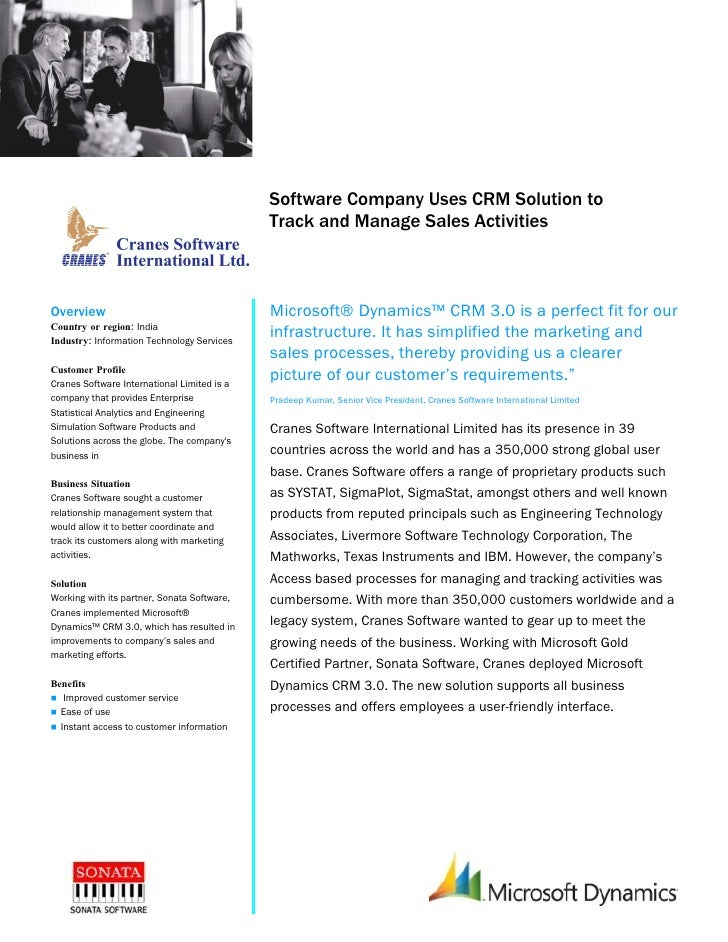 Microsoft Dynamics                                              Customer Solution Case Study                              ...