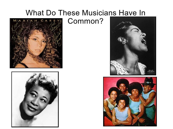 What Do These Musicians Have In Common?