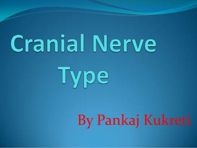 The Cranial nerve