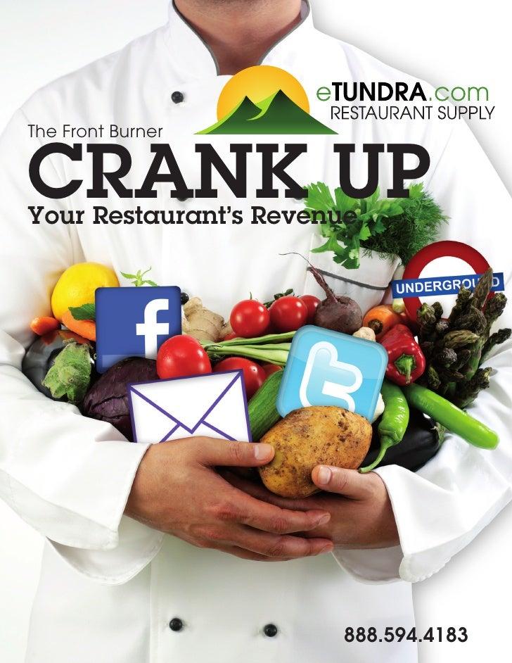 How To Crank Up Your Restaurant's Revenue