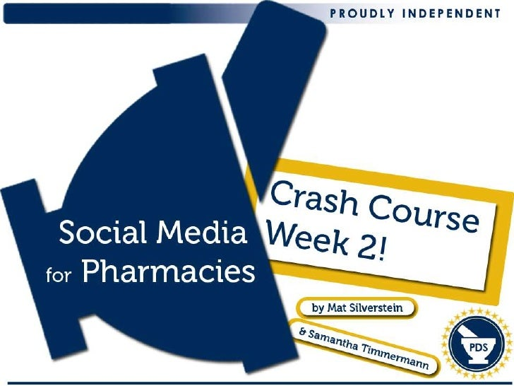 Pharmacy Social Media Crash Course - Claiming Your Social Media Real Estate