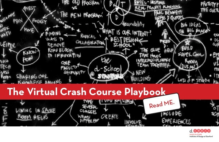 The Virtual Crash Course Playbook                             Rea d ME.