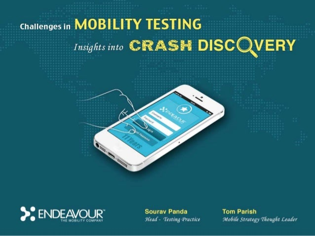 Crash discovery testing webinar by Endeavour