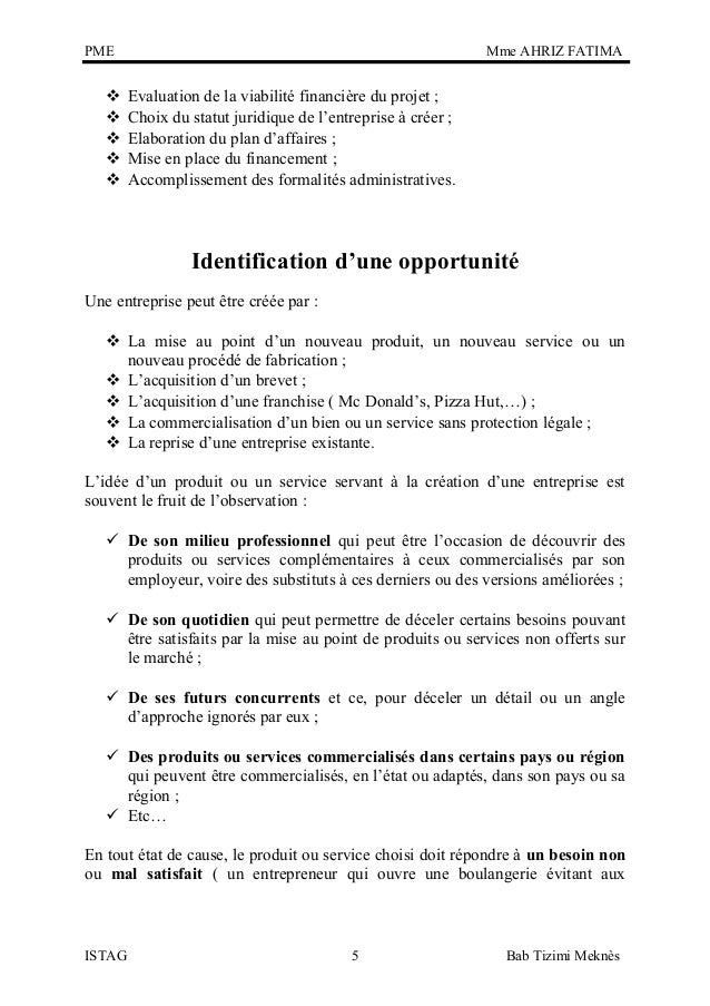 Cr ation entreprise pme for Idee emploi independant